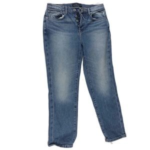 Lucky Brand tapered button fly jeans size 4/27